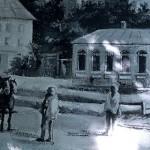 Забор за Ротондой был расписан картинами старого Кишинёва