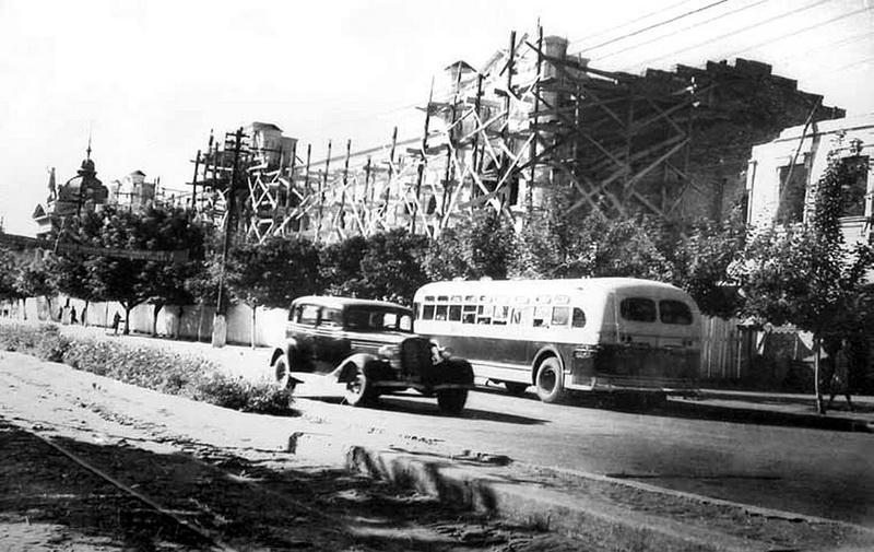 Восстановление нынешней Примэрии, 1949 год.