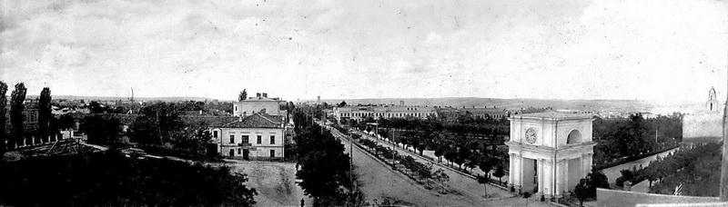 Панорамный снимок. 1910 г.