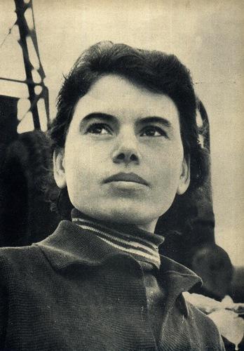 Крановщица Зинаида Фрунзе, депутат Верховного Совета МССР