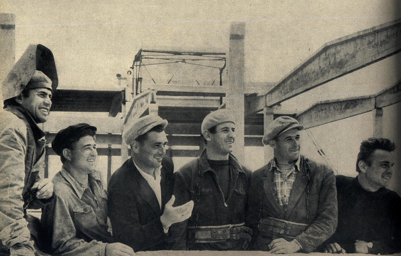 Георгий Селецкий - депутат Верховного Совета СССР и его бригада. На строительстве Завода холодильников