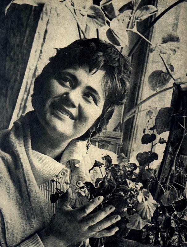 Народная артистка СССР Мария Биешу