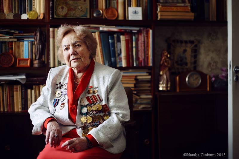 Natalia Coibanu Veteranii celui de-al Doilea Război Mondial
