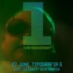 Video: «TIPOGRAFIA 5» FIRST YEAR ANNIVERSARY: FUTURE. FREEDOM. LOVE.