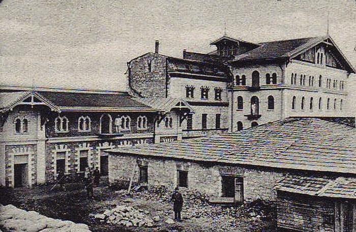 Мельница Товия Когана. Фотография начала XX века