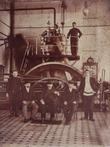 На одной из кишинёвских мельниц, начало XX века