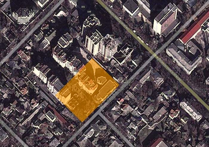 Примерное местоположение комплекса с мельницей и макаронной фабрикой