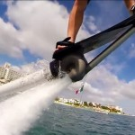 Видео: летающий борд