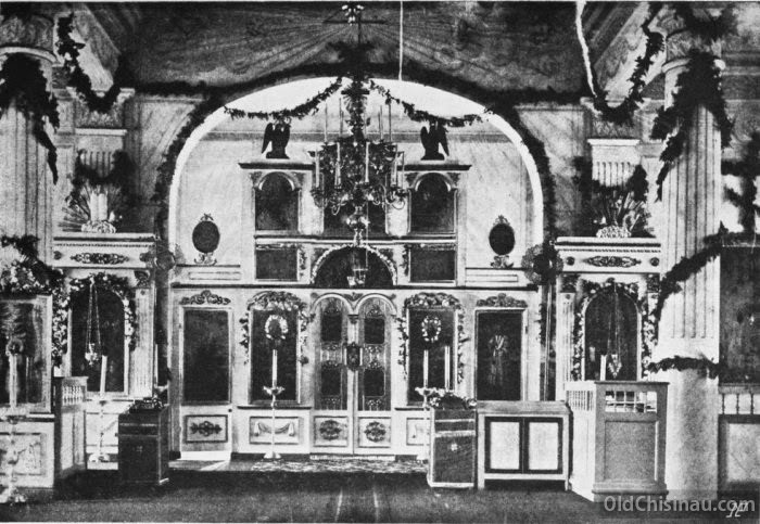 Интерьер семинарской церкви.