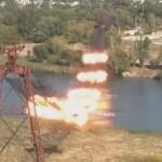 Видео: Участок канатной дороги Резина-Рыбница уничтожили контролируемым взрывом