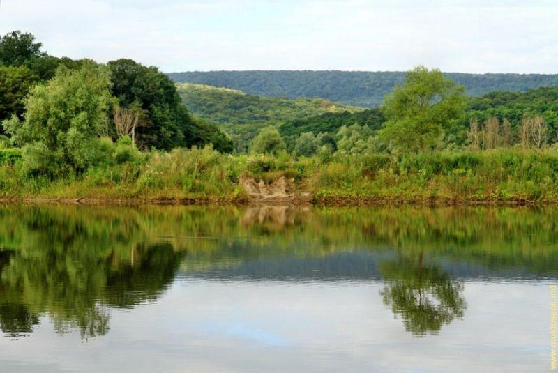 Живописные озера в центральной усадьбе заповедника