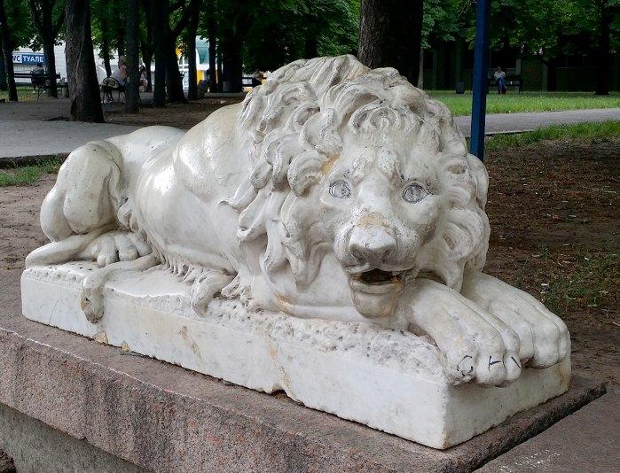 Лев в Николаеве (фото er-xvl)