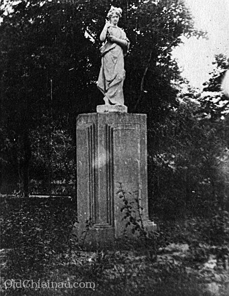 Памятник в Городском Саду. Фотография из архива Дмитрия Л.