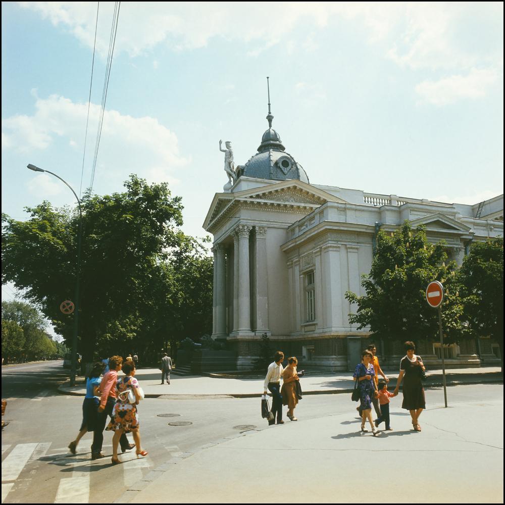 Кишинёв 70-тые годы Автор Иван Кибзий