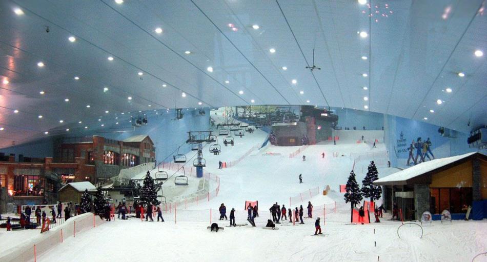 курорт-Ski-Dubai