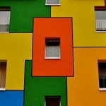 Самые цветные здания в мире