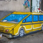 Появился первый стрит-арт объект проекта «Chisinau is Me»