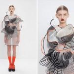 Дизайнер Ноа Равив создаёт одежду на 3D принтере