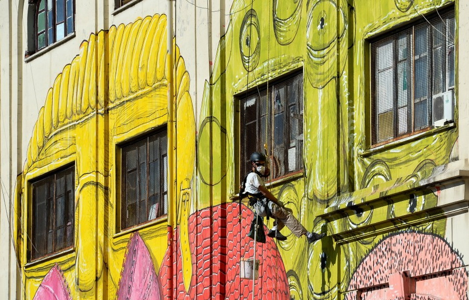 ITALY-ROME-STREET-ART