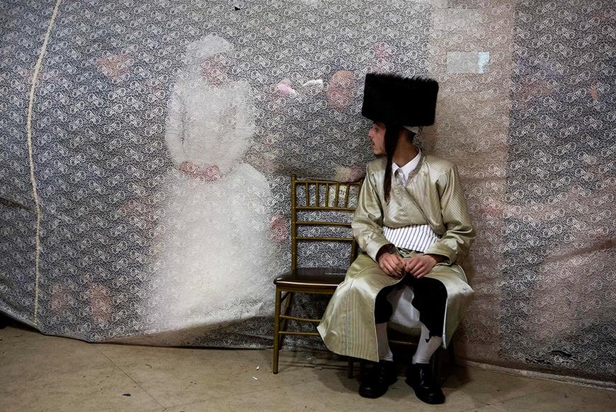 Еврейская свадьба. 18 февраля, Иерусалим (Израиль). Фото: Mehanem Kahana / AFP