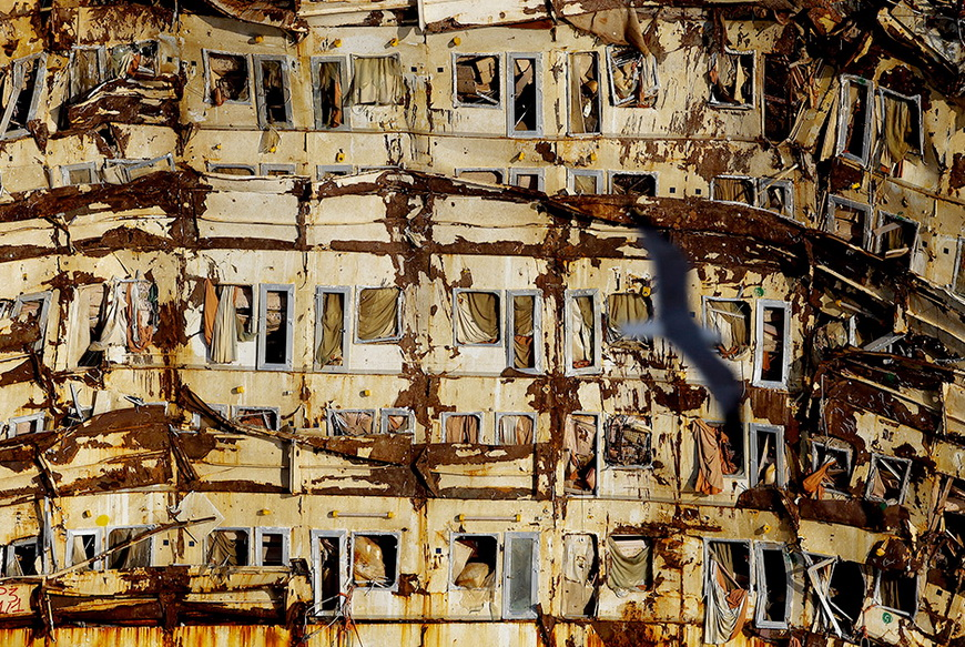 Круизный лайнер Costa Concordia. Италия. Фото: Max Rossi / Reuters