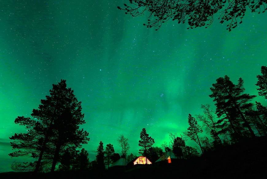Северное сияние. Норвегия, 30 сентября 2014 года. Фото: Yannis Behrakis / Reuters