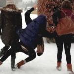 Зима в Кишинёве: как выжить в гололед
