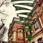 В центре Кишинёва появилась дизайнерская ёлка