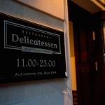 Новое место: ресторан Delicatessen
