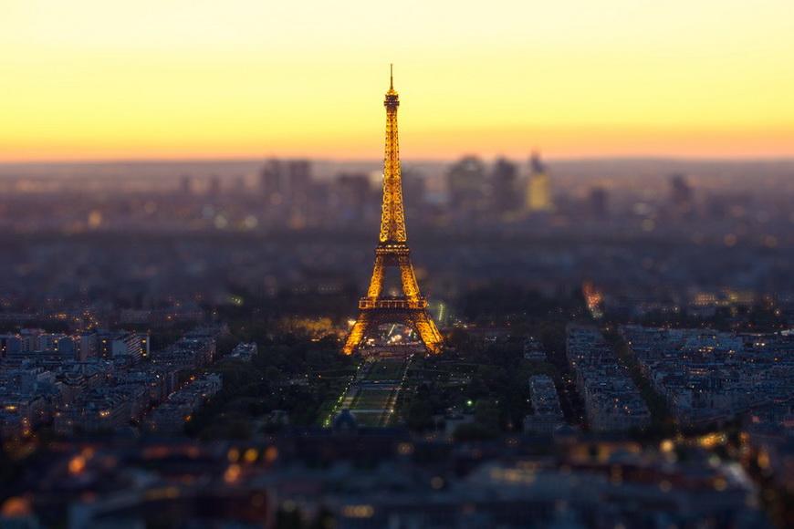 Эйфелева башня в Париже. Автор: Мохамед Халил Эль Марши