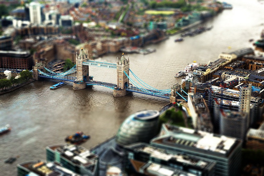 Тауэрский мост в Лондоне. Автор: Мануэль Гутман