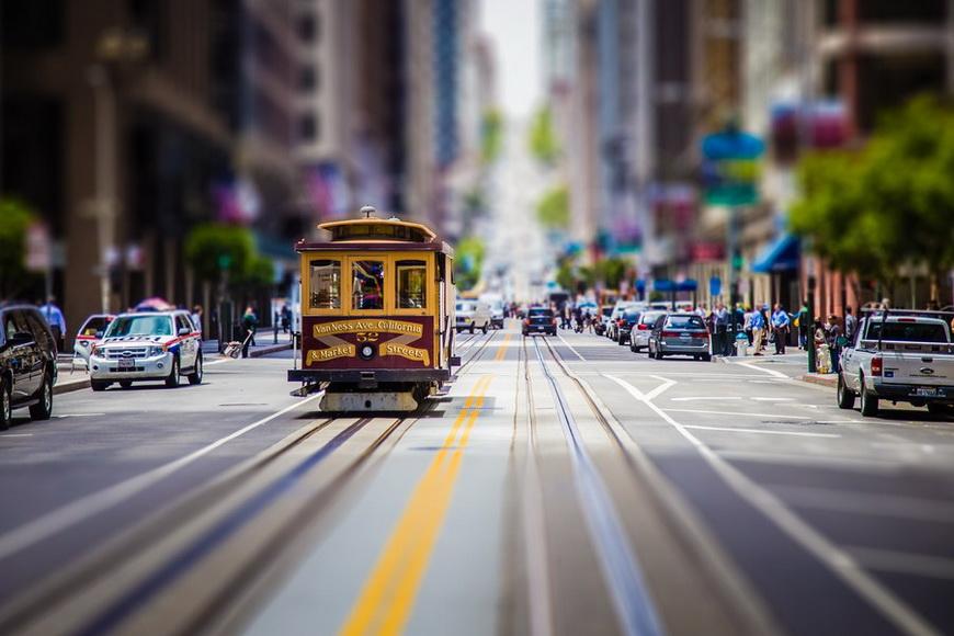 Канатная дорога в Сан-Франциско. Автор: Лоран Мейстер