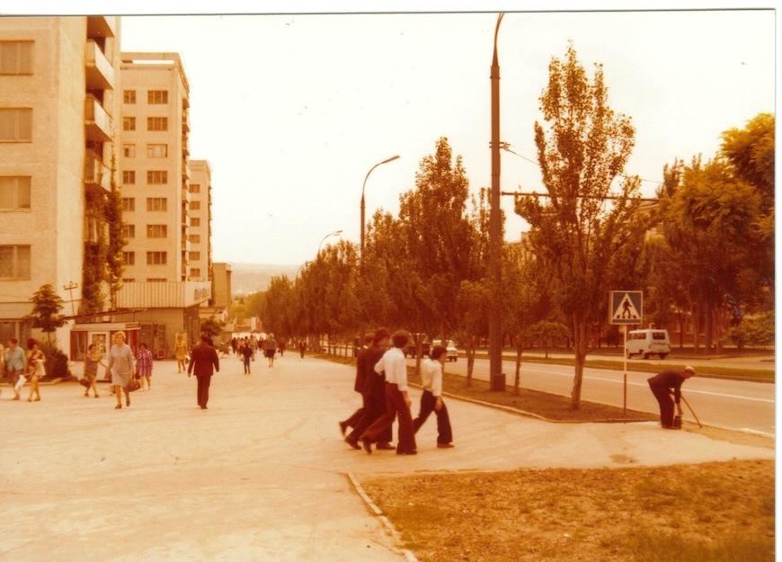 Кишинев. Улица Негруцци