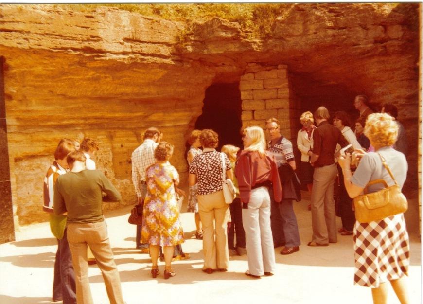 Поход в пещеры