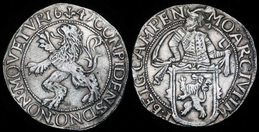 Verzam_Zilveren_leeuwendaalder_Campen_1683-5