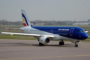 Самолет Embraer 190 Jet. Фото alfanews.md