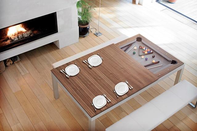 Нет места для бильярдного стола? Вуаля!  фото: fusiontables.com