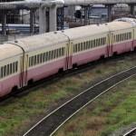 На Мунчештской машина попала под поезд