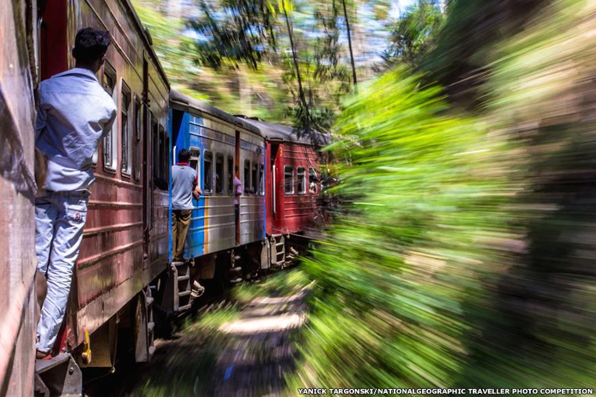 Этот снимок был сделан среди живописной природы Шри-Ланки, стал победителем в категории Движение. Яник Таргонски