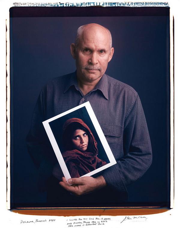 Steve McCurry – Girl In Afghanistan