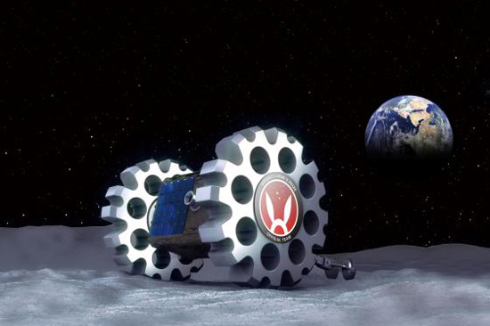 Луноход команды Hakuto.