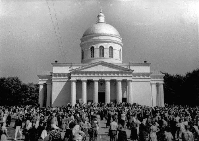 1956 год, визит Патриарха Алексия I.