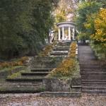 Реставрация Каскадной лестницы в парке Валя Морилор