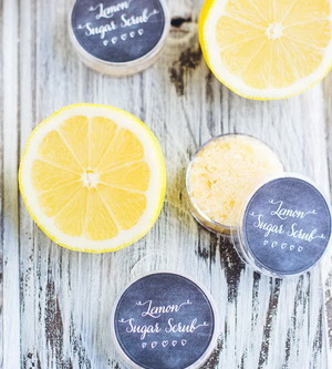 Lemon-Lip-Scrub