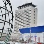 Экскурсия по гостинице «Космос» русского туриста