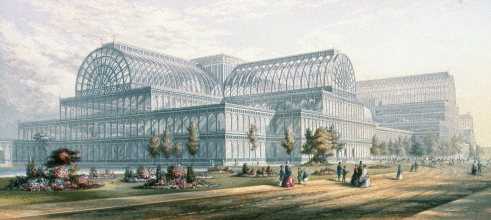 Crystal Palace at London Great Exhibition