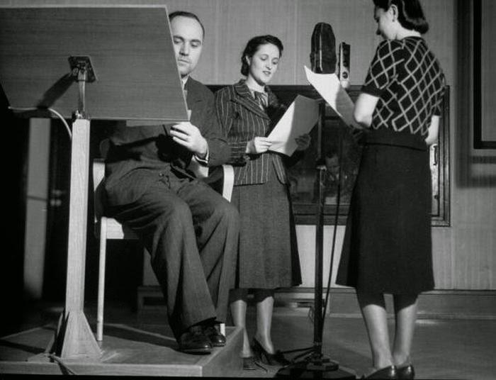 Рабочие моменты, 1940 год.