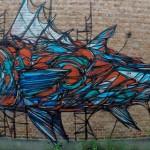 Стрит-арт: Животная геометрия Dzia