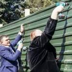 Кишинёвцы дали отпор незаконной застройке сквера