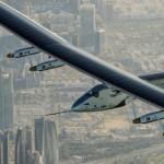 Самолет на солнечных батареях начал первый кругосветный перелет
